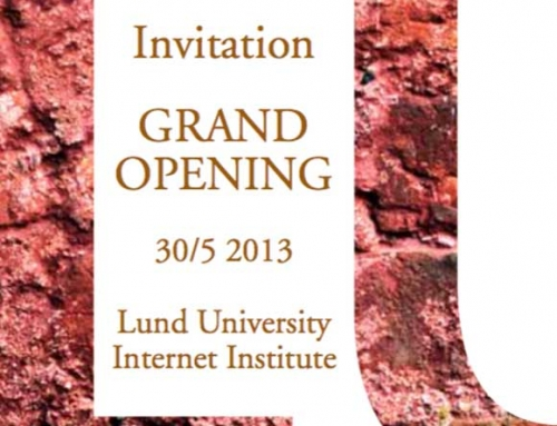 LU Internet Institute – invigning