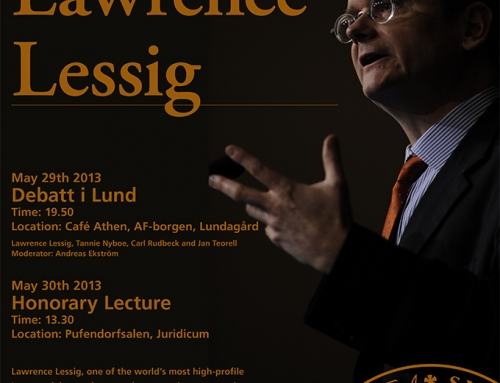 Poster Lawrence Lessig